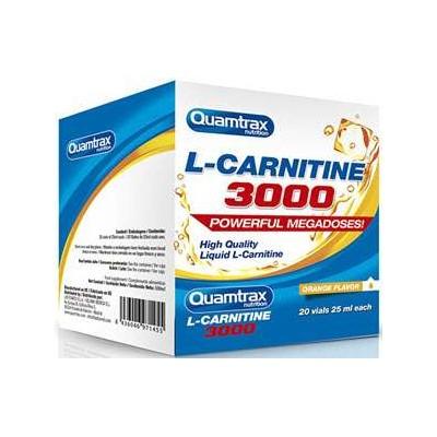 comprar QUAMTRAX NUTRITION L-CARINITINA 3000 20 VIALES 25ML