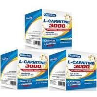PACK 2 + 1 L-CARINITINA 3000 20 VIALES 25ML SABOR NARANJA QUAMTRAX
