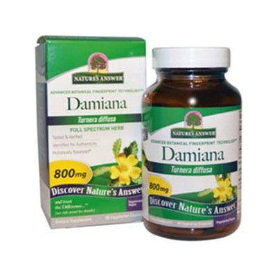 comprar Nature´s Answer DAMIANA 800MG 90 CAPSULAS NATURES ANSWER