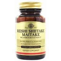 comprar SOLGAR REISHI SHITAKE MAITAKE MUSHROOM EXTRACT 50
