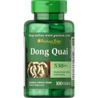 DONG QUAI (ANGELICA CHINA) 530MG 100 CAPSULAS PURITAN
