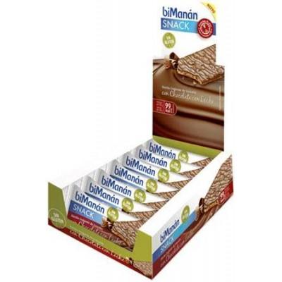 comprar Bimanan BIMANAN SIN GLUTEN CHOCOLATE CON LECHE 15 U.+