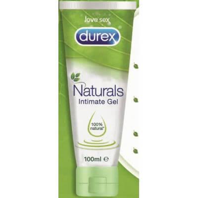 comprar DUREX LUBRICANTE DUREX NATURALS INTIMATE GEL 100ML