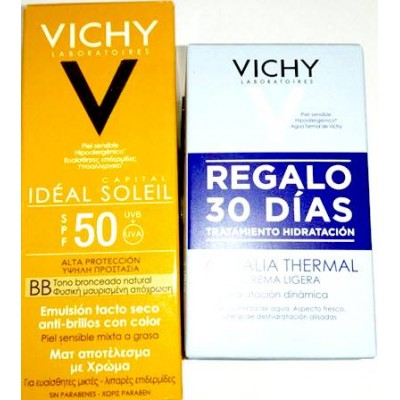 comprar Vichy VICHY IDEAL SOLEIL BB CREAM EMULSION TACTO SECO