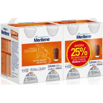 comprar PACK 2U. MERITENE DRINK CHOCOLATE