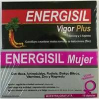 comprar ENERGISIL VIGOR PLUS 30 CAP. MAS  ENERGISIL MUJER 15CAP