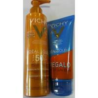 VICHY IDEAL SOLEIL LECHE ANTIARENA SPF 50 200ML + AFTER SUN IDEAL SOLEIL 100ML
