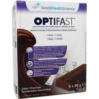 OPTIFAST BARRITAS CHOCOLATE 6 UNIDADES X 70GR