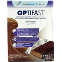 OPTIFAST BARRITAS CAPPUCCINO 6 UNIDADES