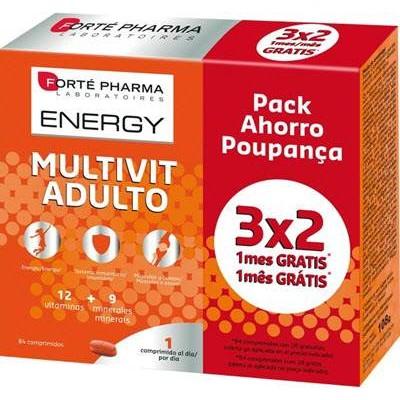 comprar ENERGY MULTIVIT ADULTO 84 COMPRIMIDOS FORTE PHARMA