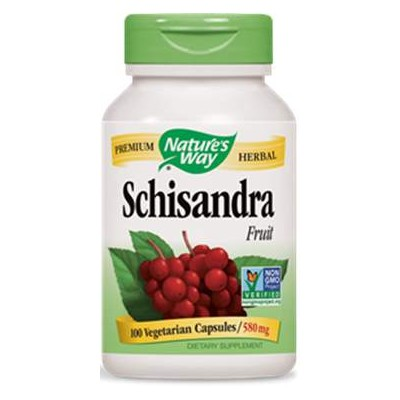 comprar SCHISANDRA 580MG 100 CAPSULAS NATURE´S WAY