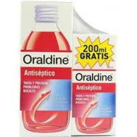 comprar ORALDINE ANTISEPTICO ENJUAGUE BUCAL 400ML MAS 200ML