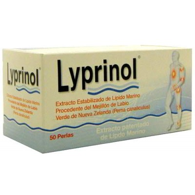 LYPRINOL 50 PERLAS 150 MG