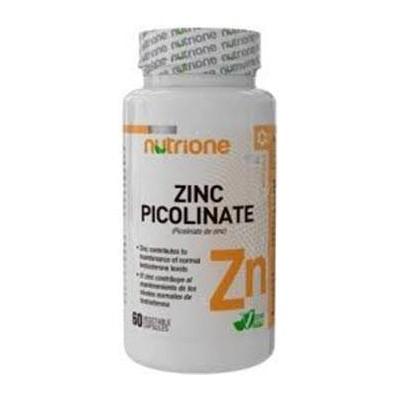 comprar PICOLINATO ZINC 10MG 60 CAPSULAS NUTRIONE