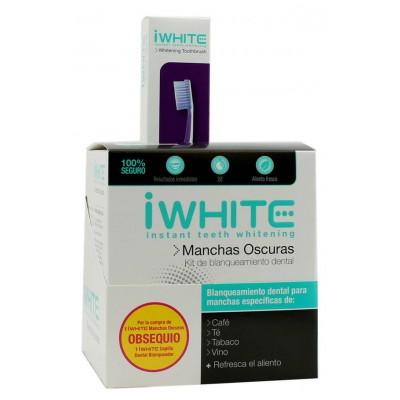 comprar IWHITE KIT BLANQUEAMIENTO MANCHAS OSCURAS + CEPILLO DENTAL BLANQUEADOR
