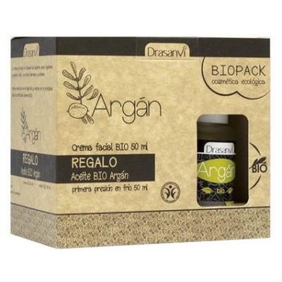 comprar Drasanvi BIOPACK CREMA FACIAL ARGAN 60ML y ACEITE BIO