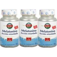 PACK 2+1 MELATONINA 1,9MG Y 5HTP A. R. KAL
