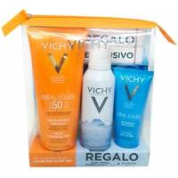 VICHY IDEAL SOLEIL LECHE SPF50 300ML + AGUA TERMALE 150ML + AFTER SUN 100ML