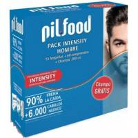 COMPRAR PILFOOD PACK INTENSITY HOMBRE 15 AMPOLLAS + 60 COMPRIMIDOS + CHAMPU 200ML
