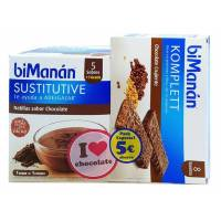 BIMANAN NATILLAS CHOCOLATE Y KOMPLETT BIOMANAN