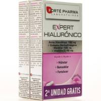 COMPRAR EXPERT HIALURONICO Y COLAGENO MARINO 30 + 30 CAPSULAS FORTE PHARMA para mejorar tu piel, cuidado desde el interior