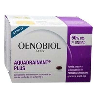 Comprar OENOBIOL AQUADRAINANT PLUS 2 X 45 COMPRIMIDOS para piernas cansadas