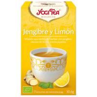 INFUSION JENGIBRE Y LIMON 17 BOLSITAS YOGI TEA