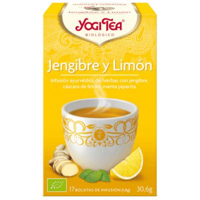COMPRAR INFUSION JENGIBRE Y LIMON 17 BOLSITAS YOGI TEA