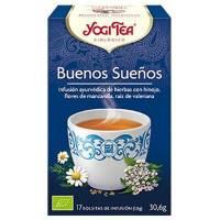 INFUSIÓN BUENOS SUEÑOS 17 SOBRES YOGI TEA