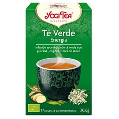 COMPRAR INFUSIÓN TE VERDE ENERGIA 17 SOBRES YOGI TEA