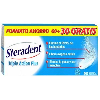 COMPRAR PASTILLAS LIMPIADORAS STERADENT ACTIVE PLUS 60 + 30