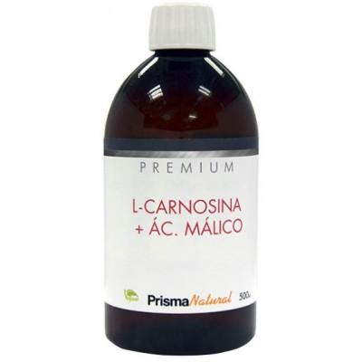 COMPRAR L-CARNOSINA + AC. MALICO PREMIUM 500 ML PRISMA NATURAL PARA MEJOR RENDIMIENTO