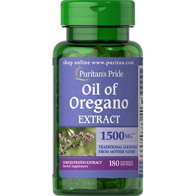 COMPRAR ACEITE DE OREGANO 1500MG 180 PERLAS PURITAN PRIDE PARA SUS DEFENSAS