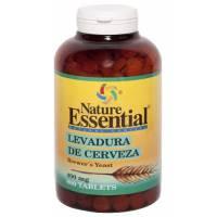 LEVADURA DE CERVEZA NATURE ESSENTIAL 400MG 800 TABLETAS