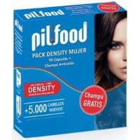 PACK DENSITY 90 CAPSULAS + CHAMPU ANTICAIDA 200ML PILFOOD