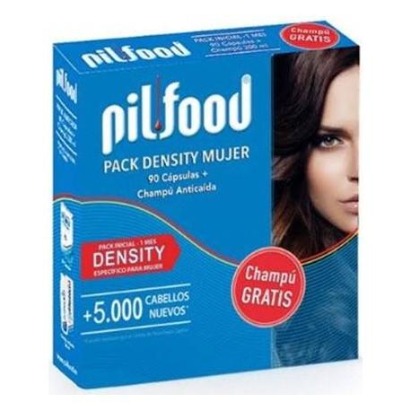 comprar PILFOOD PACK DENSITY 60 CAPSULAS + CHAMPU ANTICAIDA