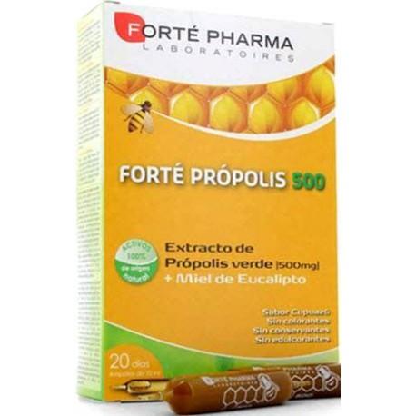comprar FORTE PROPOLIS 500MG + MIEL 20 AMPOLLAS FORTE PHARMA