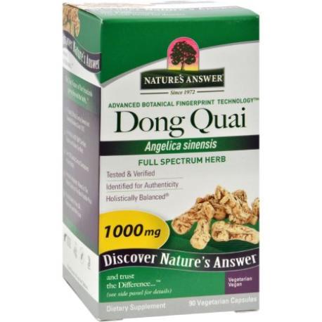 DONG QUAI 1000 MG 90 CAPSULAS