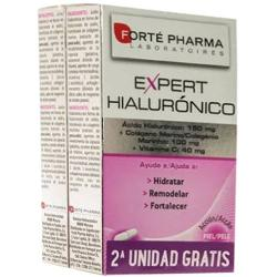 Comprar EXPERT HIALURONICO Y COLAGENO MARINO 30 + 30 CAPSULAS FORTE PHARMA para tu cabello y piel