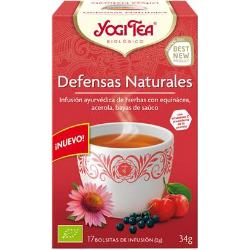 INFUSION DEFENSAS NATURALES 17 BOLSITAS YOGI TEA