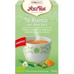 INFUSION TE BLANCO CON ALOE VERA 17 BOLSITAS YOGI TEA