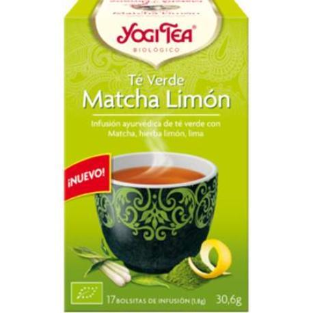 comprar INFUSION TE VERDE MATCHA LIMON 17 BOLSITAS YOGI TEA