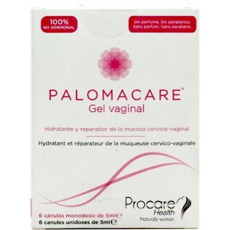 PALOMACARE GEL VAGINAL 6 CANULAS