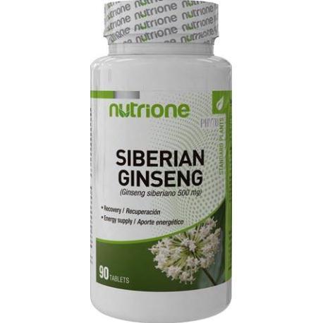 SIBERIAN GINSENG 90 CAPSULAS 500MG NUTRIONE