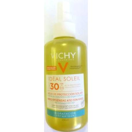 comprar VICHY IDEAL SOLEIL SPF 30 AGUA DE PROTECCION SOLAR CON ACIDO HIALURONICO 200 ML