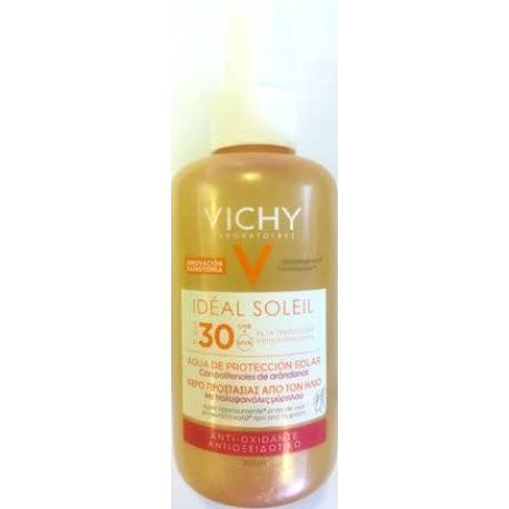 comprar VICHY IDEAL SOLEIL SPF 30 AGUA DE PROTECCION SOLAR CON POLIFENOLES DE ARANDANOS 200 ML