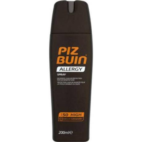 PIZ BUIN ALLERGY SPRAY PROTECCION SOLAR FP50+ 200 ML