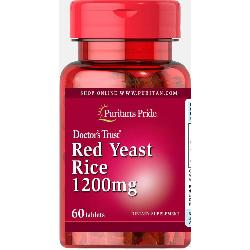 LEVADURA ARROZ ROJO 60 COMPRIMIDOS 1200MG PURITAN (RED YEAST RICE)