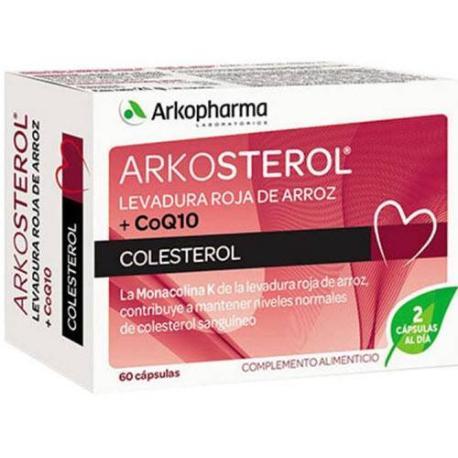 comprar ARKOSTEROL LEVADURA ROJA DE ARROZ Y COENZIMA Q10 60 CÁPSULAS ARKOPHARMA en farmadina.com