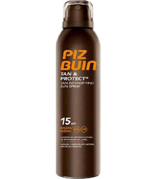 comprar TAN & PROTECT SPRAY SPF15 150ML PIZ BUIN